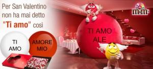 Regalo m&M's per San Valentino