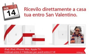 Regali Apple per San Valentino