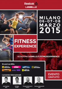 Les Milles Fitness Experience_6-8 Marzo 2015